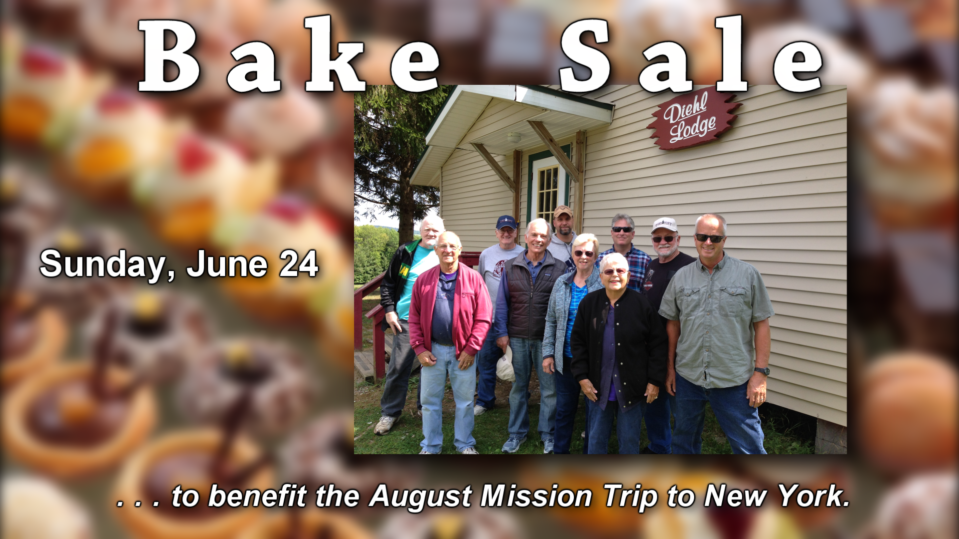 Bake Sale - NY Mission Trip